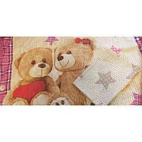 Комплект постельного белья  в кроватку Мишки Тедди, фото 1