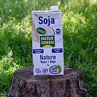 Растительное молоко NaturGreen из сои без сахара органическое 1л.