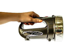 Фонарь-прожектор Yajia YJ 2805 1 LED Gold (2432), фото 2
