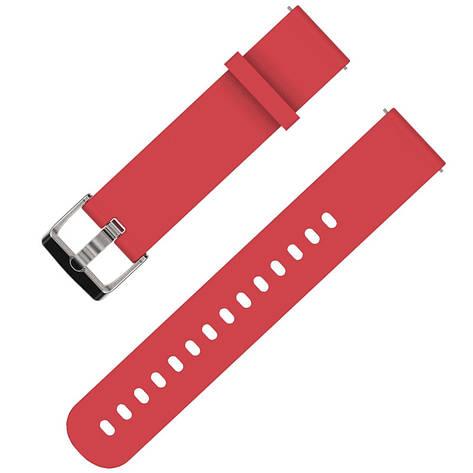 Ремешок BeWatch Standard для Xiaomi Amazfit BIP Красный (1010403), фото 2