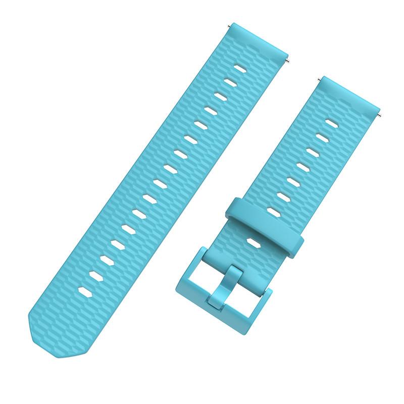 Ремешок BeWatch Wave для Samsung Galaxy Watch Active Голубой (1011816.1)