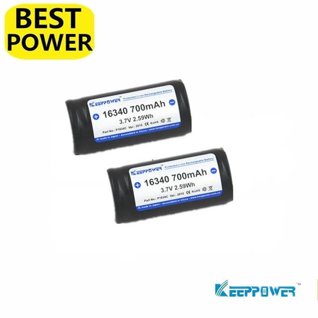 Аккумулятор Keeppower 16340 700mAh Li-ion Battery
