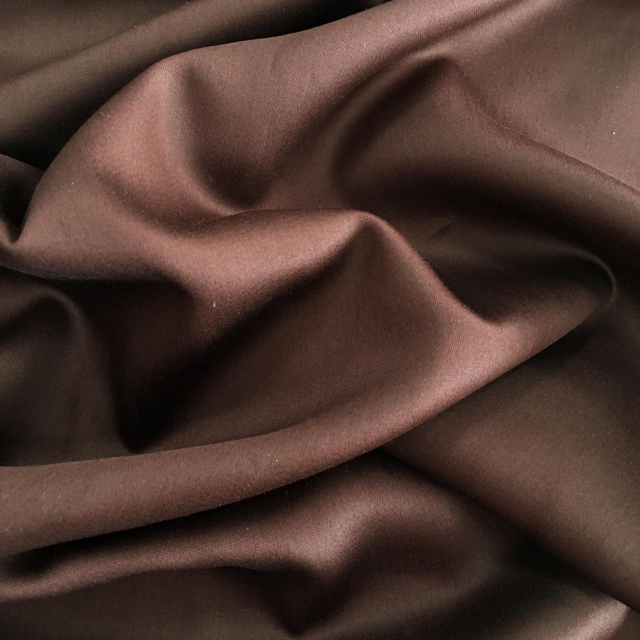 Сатин коричневый 240 см