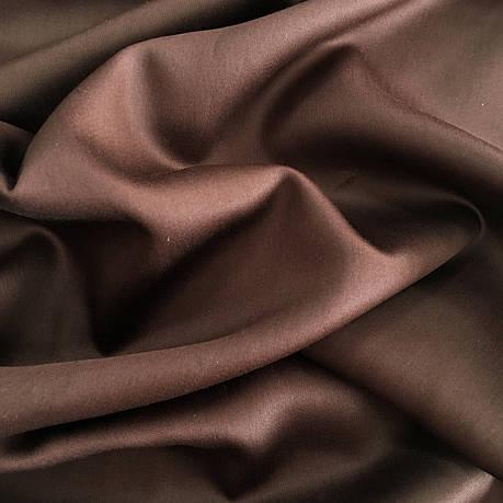 Сатин коричневый 240 см, фото 2