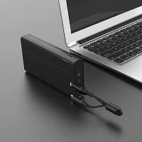 Портативное зарядное устройство Power Bank HOCO J33A Cool freedom 20 000 mAh Black
