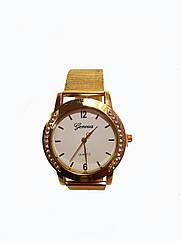 Часы женские Geneva Afina Белые GA-0325W, КОД: 111976