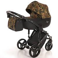 Детская коляска 2 в 1 Tako Junama Fashion Pro Army Хаки 13-JFPAr, КОД: 287214