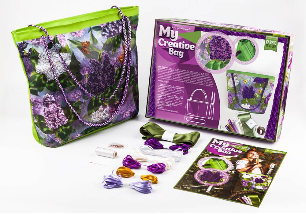 <b>Набор для творчества Danko</b> Toys My creative bag Сирень ...
