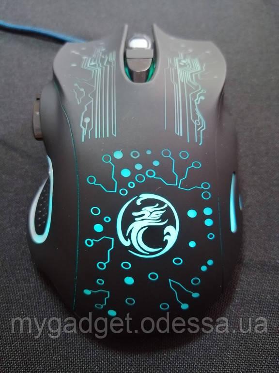 Проводная Игровая мышь iMice X9 + подарок