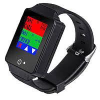 Пейджер–часы официанта с цветным экраном R-08 Black Recs USA