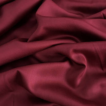Сатин бордовый 240 см №57