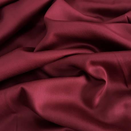 Сатин бордовый 240 см, фото 2