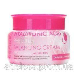 Балансирующий крем с гиалуроновой кислотой Farm Stay Hyaluronic Acid Premium Balancing Cream, 100 мл