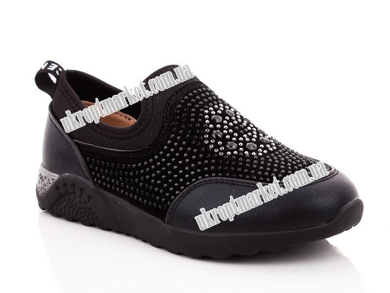 """Туфли детские LR0979 black (8 пар р.32-37) """"Lilin"""" LG-1643"""