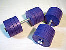 """Гантели наборные """"Титан ПРО"""" 2 шт по 42 кг с блинами 5 кг, фото 3"""