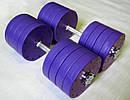 """Гантели наборные """"Титан ПРО"""" 2 шт по 42 кг с блинами 5 кг, фото 4"""