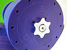 """Гантели наборные """"Титан ПРО"""" 2 шт по 42 кг с блинами 5 кг, фото 5"""
