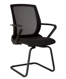 Кресло FLY CF black, сиденье С-11, спинка сетка OH-5 (Новый Стиль ТМ)