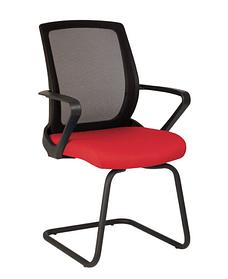 Кресло FLY LUX CF black, сиденье Fj-7, спинка сетка OH-5 (Новый Стиль ТМ)
