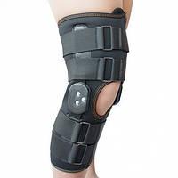 Ортез коленного сустава, неопреновый, шарнирный, с регулированным углом сгиба Алком 4032, 1,2,3,4,5,6 размеры