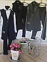 Модный школьный комплект Рида-2 на девочку подростка брюки + жилет Размер 158, фото 7