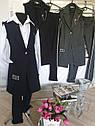 Модный школьный комплект Рида-2 на девочку подростка брюки + жилет Размер 158, фото 8