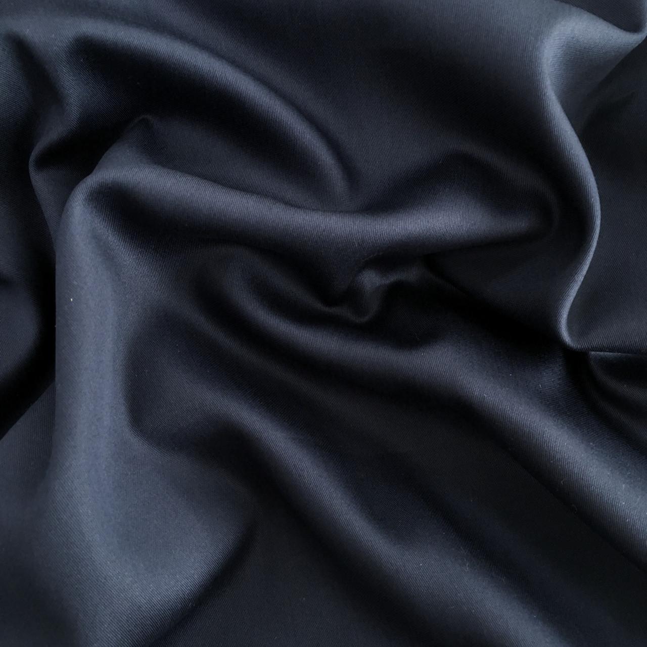 Сатин темно-синий 240 см