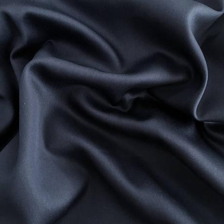 Сатин темно-синий 240 см, фото 2