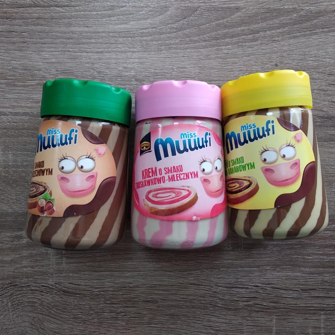 Шоколадна паста зі смаками Miss Muuufi (в асортименті) 400 гр.