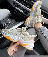 Женские кроссовки Nike M2K Tekno desert camo snake , Реплика, фото 1