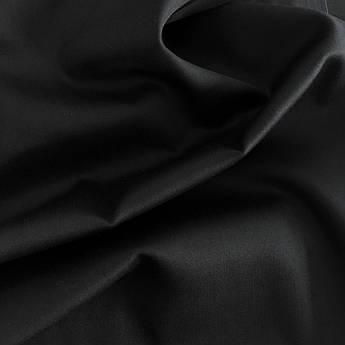 Сатин черный 240 см