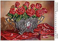 Схема для вышивки бисером Соблазнительные розы