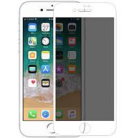 Защитное стекло Nillkin Privacy Glass Full Screen 3D AP+MAX для iPhone 7 plus   8 plus Белый 6855, КОД: 1034981