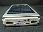 Power Bank Samsung 30000 mAh (Солнечная зарядка + LED фонарь) Серебро, фото 6