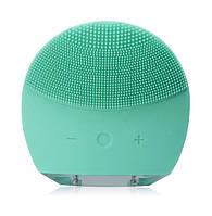 Электрическая щетка для лица FOREVER Lina Mini 2 с индивидуальной настройкой очистки Зеленый SUN1, КОД: 155273