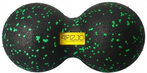 Массажный мяч двойной 4FIZJO EPP 12x24 см для самомассажа спины, фитнеса, йоги (4FJ1325)