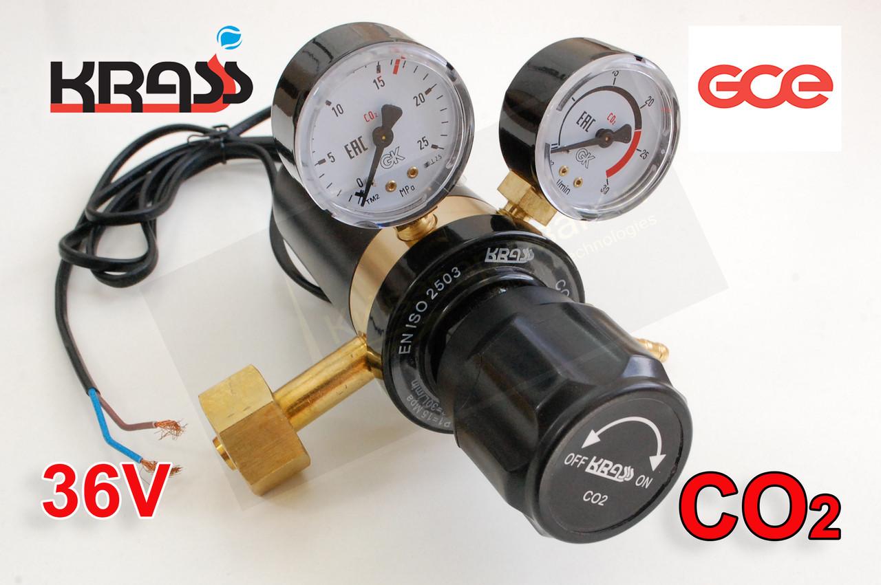 Регулятор расхода газа У30 КРП с подогревом KRASS