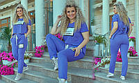"""Женский спортивный костюм  больших размеров """" Футболка и штаны """" Dress Code, фото 1"""