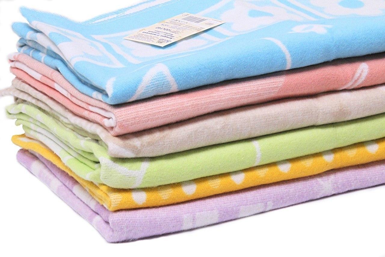 Детское одеяльце байковое