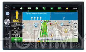"""Автомагнитола 2Din Pioneer 7023 CRBG 7"""" IPS 1024*600 GPS, Bluetooth, +Рамка+Шахта НОВИНКА!"""