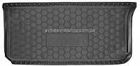 Резиновый коврик багажника Smart Fortwo 451 2007- Avto-Gumm