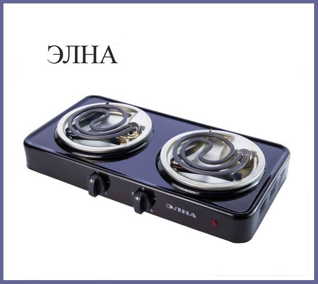 "Электроплита ""Элна"" (2 узких тена)"