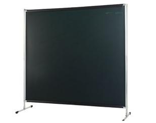 Екран Cepro Gazelle 2000х2000 мм з темно-зеленої захисної шторою Green-9 1700х2000х0.4