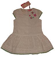 Платье нарядное белое р. 98