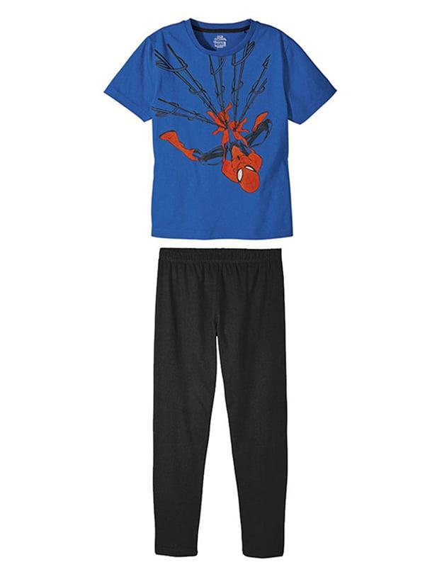 Пижама для мальчика Spider-Man Marvel (Бельгия) р.122/128