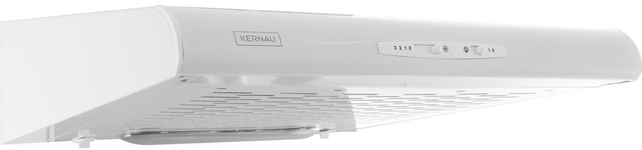 Белая подвесная кухонная вытяжка Kernau KBH 0960.1 W
