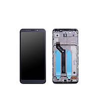 Дисплей + сенсор (модуль) Xiaomi Redmi 5 Plus черный + рамка оригинал (Китай)