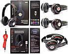 Наушники беспроводные Monster Beats HD S460 Bluetooth (MP3, FM, Aux, Mic) Черные, фото 2