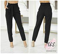 Классические женские брюки с высокой посадкой. 2 цвета!
