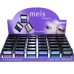 Тени lkz Dtr Meis MS 0202 Двухцветные Компактные Упаковкой 36 штук на 9 тонов